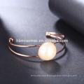 Nouvelle vente tendance style vintage déclaration femmes bracelet en or rose