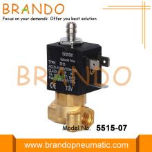 Válvula solenóide de bronze de 1/8 '' de 3 vias da série 55