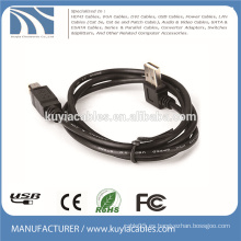 USB2.0 Ángulo recto Tipo A a Tipo B Macho a macho Cable de impresora 1M 2M