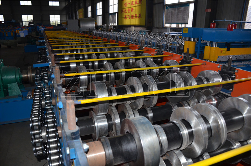 Decking Steel Production Line