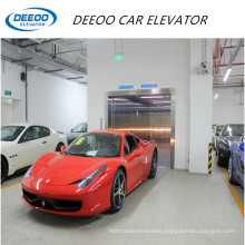 Stainless Steel Home Garage Indoor Car Parking Lift