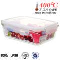 2014 Easy lock China Hersteller alle Größe Ofen sichere Lagerung Lebensmittel-Container mit Deckel