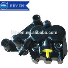 Disc brake caliper for motorcycle