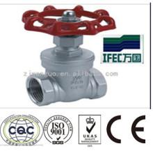 Vanne de fermeture sanitaire en acier inoxydable (IFEC-GV100001)
