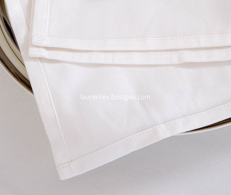 cotton white napkin