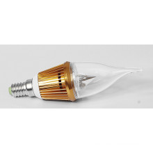 3W E14 Golden Color LED Candle Bulb Light (LC-JP005)