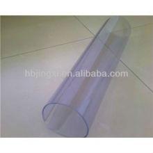 Feuille pvc transparente extrudée, pvc Rolls