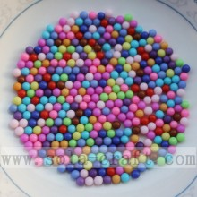 Factory made hot-sale for Round Plastic Beads Fashion Multicolored Jewelry Accessory Ball Beads Without Hole export to Kenya Supplier