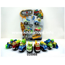 New Metal Pull Back Engineering Car Toy (035988)