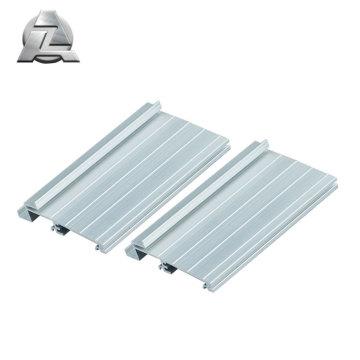 Tira umbral de aluminio anodizado plata serie 6000