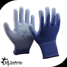SRSAFETY 13g U3 лайнер PU перчатки для садоводства перчатка / рабочие перчатки