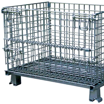Gudang Stackable Steel Wire Mesh Pallet Kandang