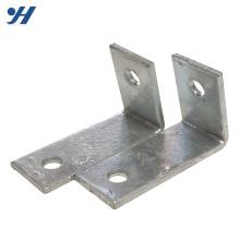 Suporte de aço com ângulo de encaixe galvanizado por imersão a quente