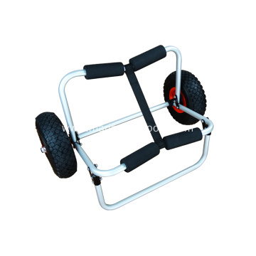 Aluminum Canoe Trailer Trolley Boat Kayak Cart for Balloon Wheel