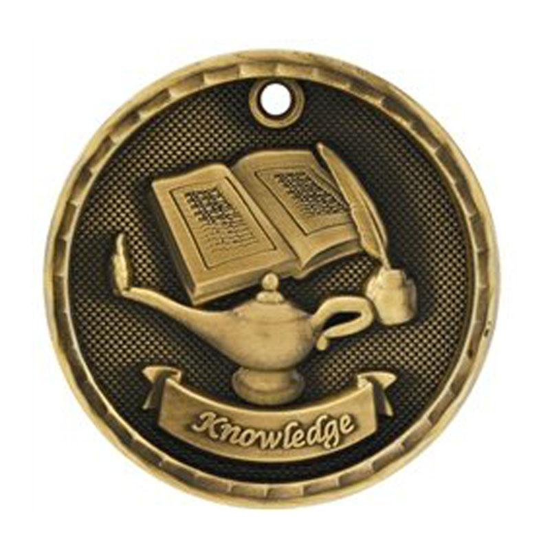 Medals Lamp Of Knowledge Medal