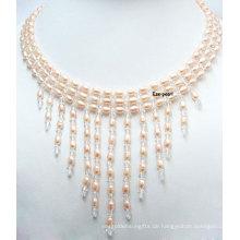 Hochzeit Süßwasser Perle Halskette