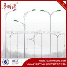Stahlpol Hersteller 6m, 7m, 8m, 9m, 10m, 11m, 12m, 13m Q345 Stahl LED im Freien kundenspezifische Straßenbeleuchtung Pol