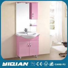 Vanités de salle de bain modernes pvc miroir rose de 36 pouces