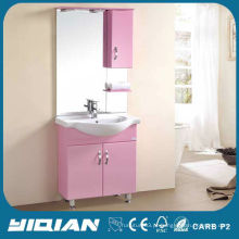 Vasilhame de banheiro moderno pvc de 36 polegadas com espelho retroiluminado