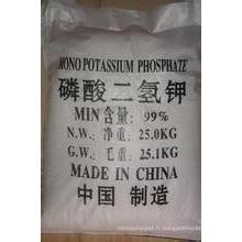 Phosphate mono-potassique MKP 98% pour la catégorie d'agriculture