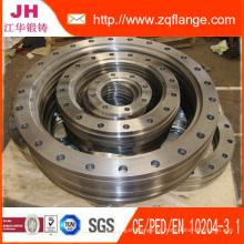 Flanges de aço DIN Pn16 Socket Weld 316I Flanges de aço inoxidável e carbono