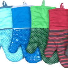 Heat Resistant BBQ Grill Oven Gloves Washable Kitchen Oven Mitt