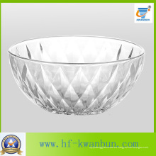 De alta calidad de vidrio prensado Bowl Fruit Candy Bowl Vajilla