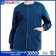 Affordable Hospital de calentamiento Snap Front Scrub Jacket Coat (YHS115)