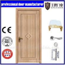 Combined Pattern Wooden Single Door Designs Modern Wood Door Designs