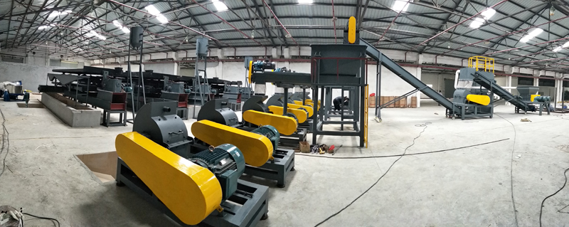 pcb waste recycling machine