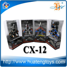 Wholesale Cheerson 2.4G RC F15 SU27 F22 F35 MINI Fighter RC helicopter CX-12 RC drone helicopter