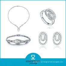 2016 mais novo conjunto de jóias pulseira de cristal (J-0048)