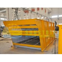 Tela de vibração de arredondamento profissional da máquina de mineração do ouro
