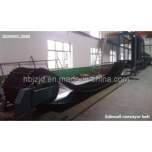 Xe-Sc-800/4 + 2 Conveyor Courroie ondulée