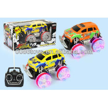 HW TOYS 4 channel wheels with flash light RC SUV car toy