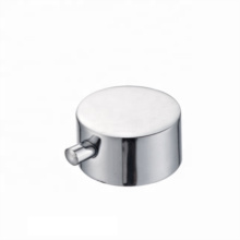 Manufacturer supply zinc polished mixer bathroom portable  faucet wheel handle