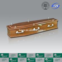 Гроб австралийский стиль Люкс для продажи A30-ЗАСТЕНЧИВЫЙ