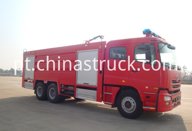 13T NISSAN DIESEL water and foam fire truck