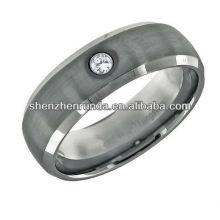 Jóia por atacado da forma anel do tungstênio jóia por atacado da forma