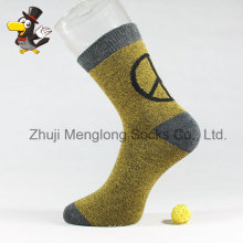 Golden Color for Men Cotton Socks