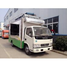 Mobile outdoor street food truck vending carts