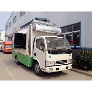 Mobile outdoor street food truck vending carts