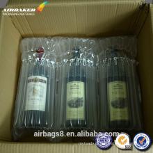 Por atacado vermelho vinho colunas coxim airbag para entrega ou transporte