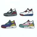Insigne d'épingle de chaussures de basket-ball en émail doux personnalisé