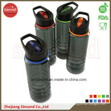 700ml Hot Sales Trtian Water Bottle with Straw, BPA Free