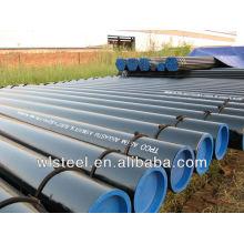 tubulação de aço sem emenda da grande parede pesada do diâmetro / ASTM A106 / A53