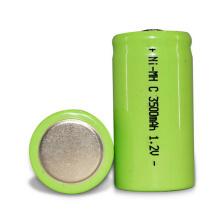 Bateria Ni-mh do bloco 3.6v 3500mah 1.2v 3500mah C da bateria de Nimh C com o conector de bateria para amplificadores de poder