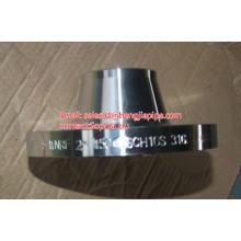 Flange de pescoço de solda CS SS 316 SCH10