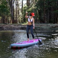 Top level inflatable pink sup for wholesale