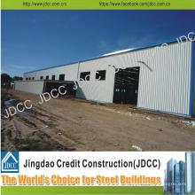 El mejor vendedor y estructura de acero de alta calidad Edificio grande del palmo